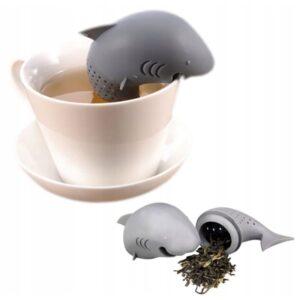 Zaparzacz do Herbaty Ziół koszyczek Rekin RYBKA RYBA XJ020A