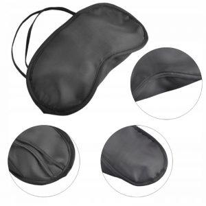 Blindfold Sleeping Blindfold Mask černá XJ2261