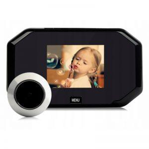 WIZJER DRZWIOWY kamera LCD zdjęcia JPG judasz XJ3000