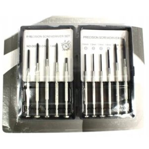 Zestw śrubokrętów precyzyjnych 11 szt XJ3380