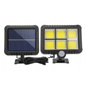 Halogen Lampa SOLARNA 128 LED Czujnik Ruchu XJ3685 WAW