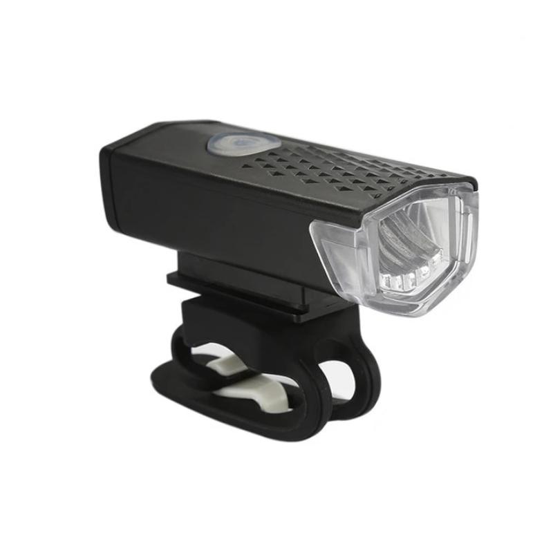 LAMPKA ROWEROWA LED PRZEDNIA OŚWIETLENIE NA ROWER USB XJ4235